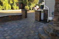 Driveway-Entry-Pillars-Wall-Lighting-and-Steps