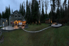 Travertine-Patio-walkway-and-fire-pit