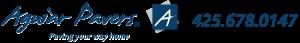 Aguiar Pavers retina logo