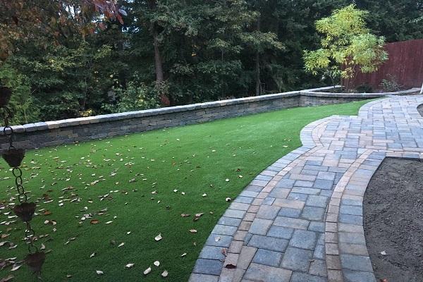 Artificial Grass · Patio Stones · Walkways