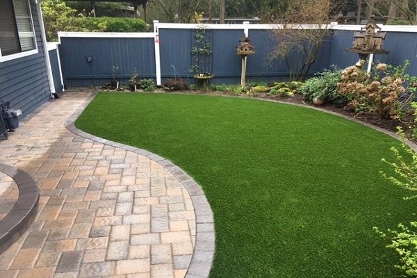 Good Artificial Grass · Patio Stones · Retaining Walls